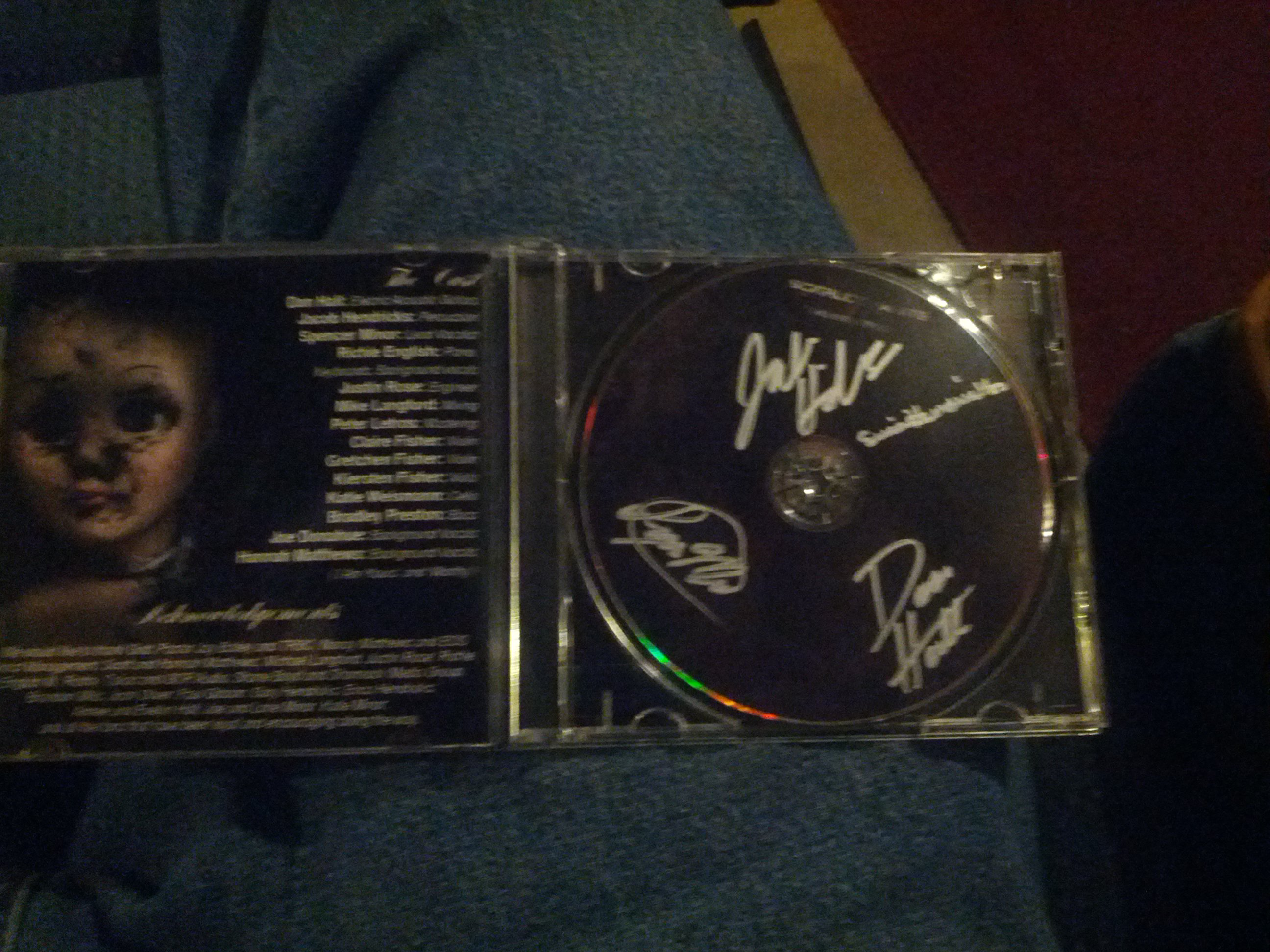 My personally Signed copy courtesy of these amazing people!
